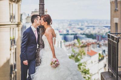 Sabrina et Samuel : une belle cérémonie rustique chic sur les hauteurs de Montmartre !