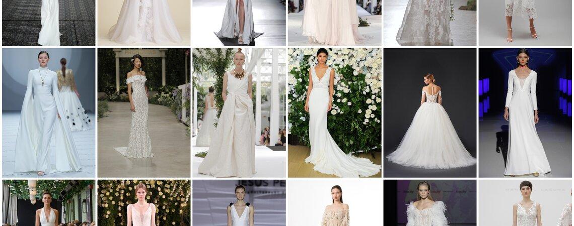 Die 100 schönsten Brautkleider für 2019