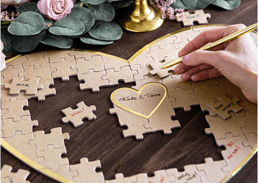 10 idées très originales pour votre livre d'or de mariage
