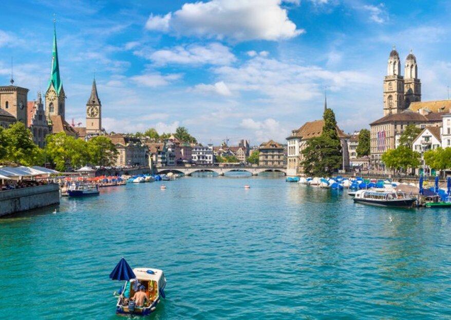 Die besten Locations in Zürich für Ihre Hochzeitsfeier