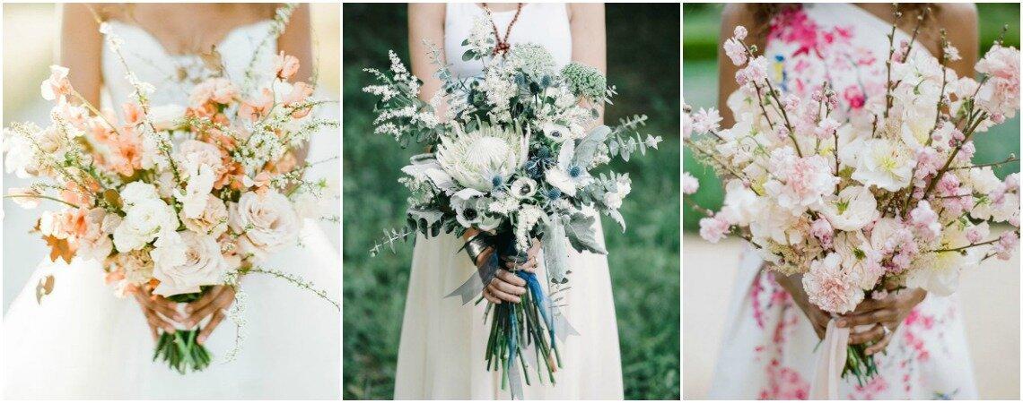 Ein wundervolles Accessoire direkt von der Wiese – Wildblumen im Brautstrauss
