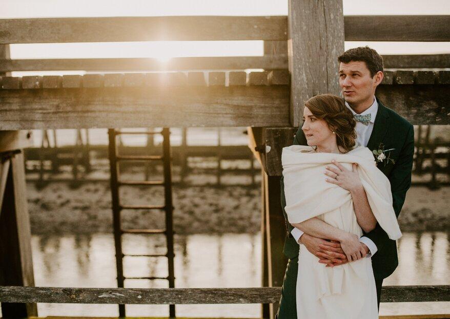 Chaleureusité et festivité, découvrez le mariage hivernal de Laureen et Alexis !