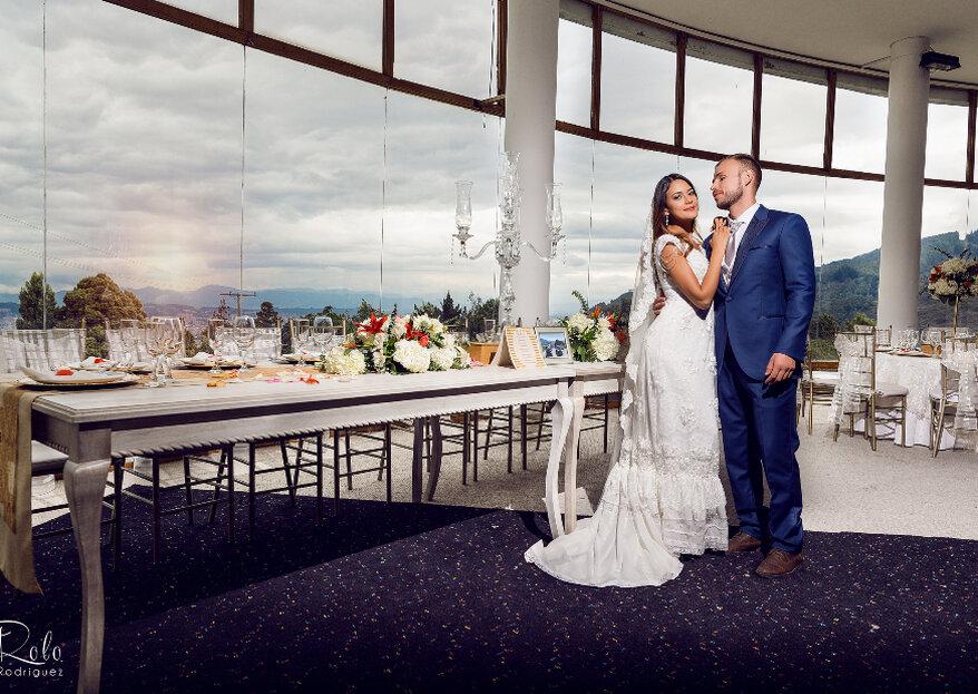 Casarse con la vista de Bogotá desde La Calera, en Hacienda Mediterraneum