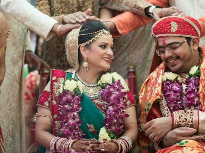Fabulous big day of Mansi and Kunal: The one that started in a Temple