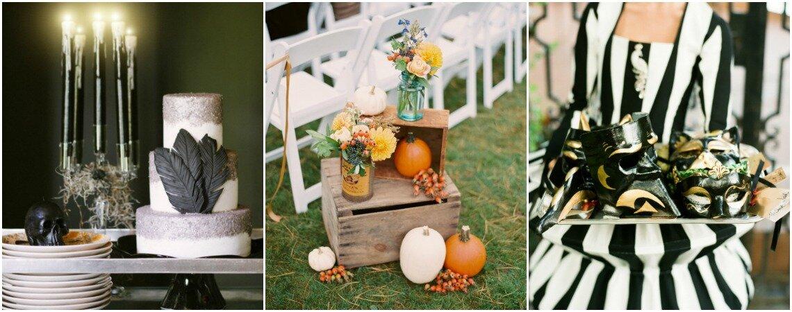 "Come decorare un matrimonio a tema Halloween: ""confetto"" o scherzetto?!"
