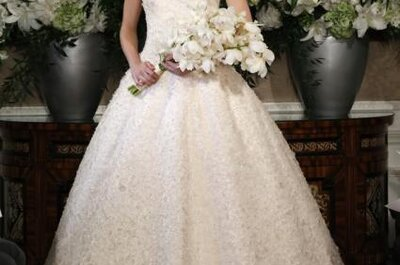 Romona Keveza Wedding Dresses Fall 2013: Timeless Styles for Every Bride