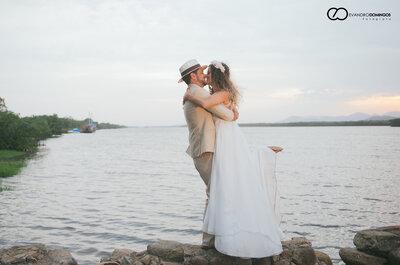 Do carnaval à casamento na Ilha do Cardoso: Camila e Jean