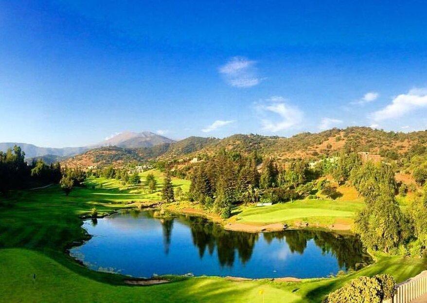 Valle Escondido Golf & Country Club, un lugar con impresionantes vistas para celebrar tu matrimonio