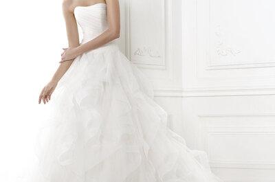 Vestidos corte princesa según Pronovias 2015