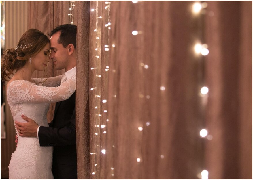 Priscila e Leonardo: um casamento clássico e sofisticado, com a cara dos noivos!
