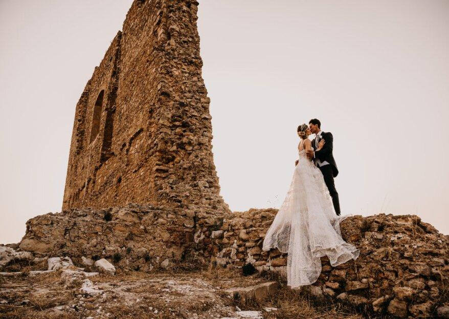 Le fotografie di nozze catturano l'anima delle coppie di sposi