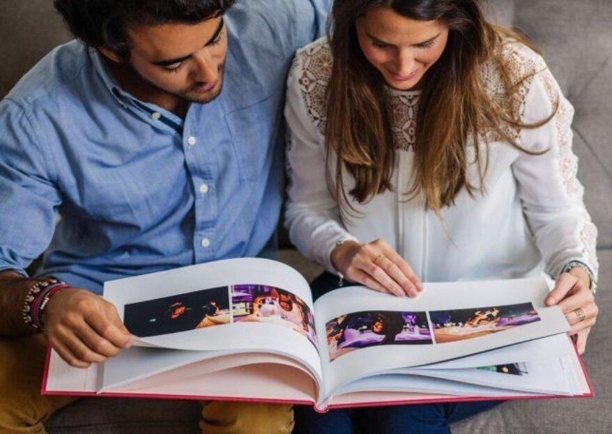 ¿Cómo elegir el álbum de fotos de tu matrimonio?