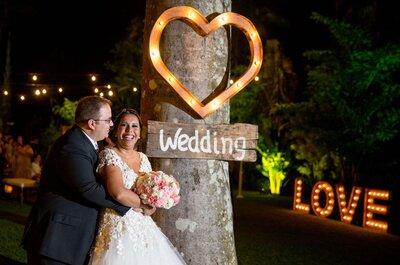 Giane & Gustavo: casamento rústico chic MARAVILHOSO na Serra de Petrópolis!