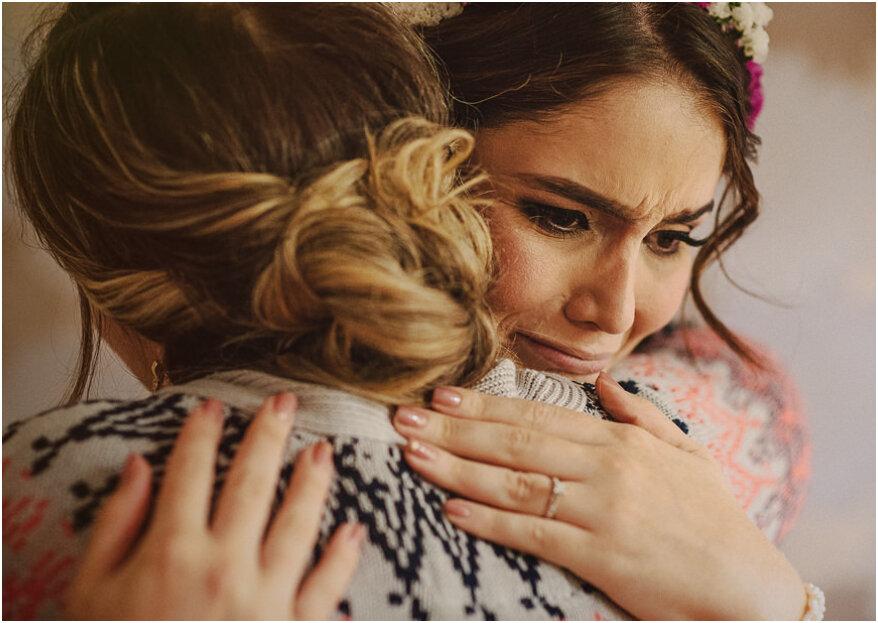 Las 5 razones que generan más estrés en la novia antes del matrimonio