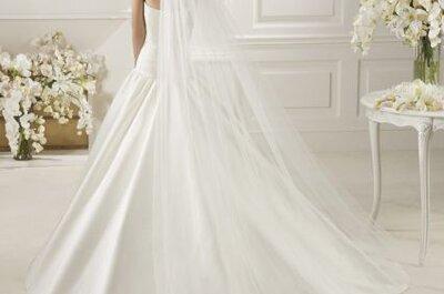 Tendencias en velos de novia 2013