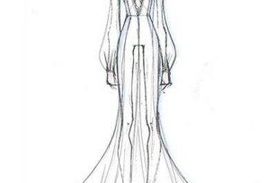 Per il tuo matrimonio, scegli un abito hippy chic come Belen!