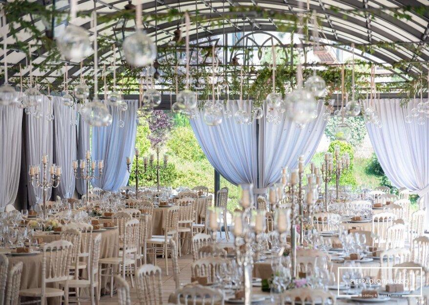 Con Tabusso Pierpaolo wedding and event planner il matrimonio da favola diventa realtà