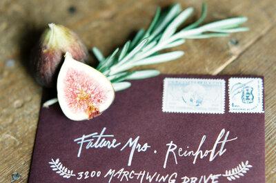 Los sobres más originales para tus invitaciones de boda: Maravillas en papel