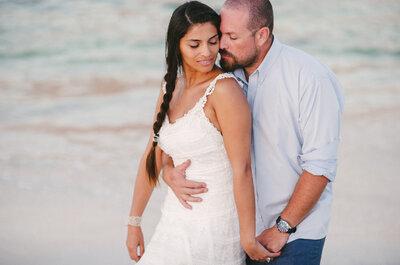 Daniela y Andrés, un matrimonio de amor y magia en la playa de Totoralillo