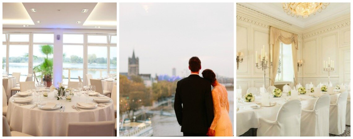 Ihr großer Tag in Köln – Finden Sie die schönsten Hochzeitslocations in der pulsierenden Domstadt