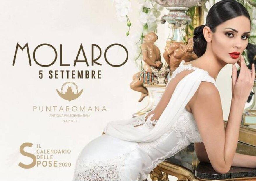 Biancaneve e le 7 Wedding Planner, il ritorno del Calendario delle Spose, con il super ospite Gianni Molaro