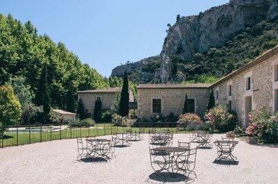 Les meilleurs lieux de réception pour un mariage dans les Bouches-du-Rhône