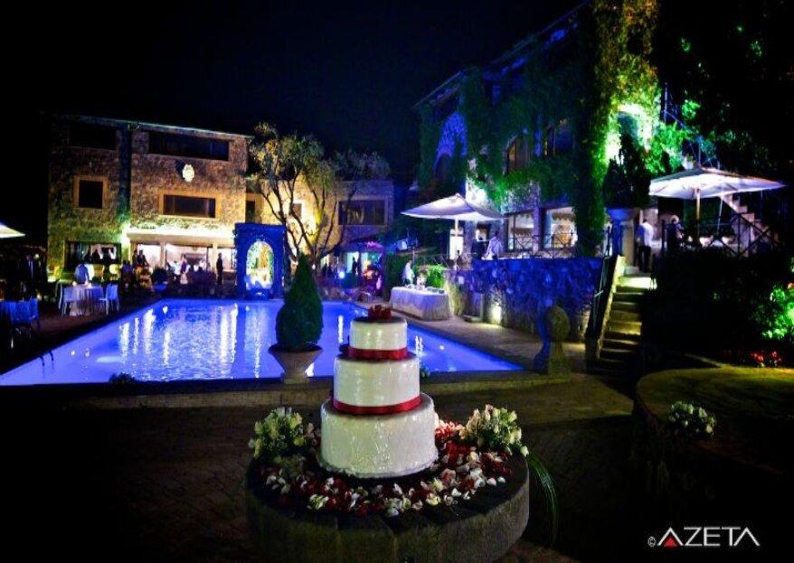Il bello di sposarsi in un antico borgo romano, l'atmosfera di Borgo della Merluzza