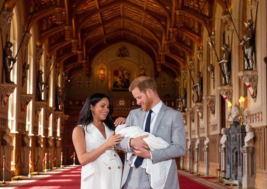 """""""Royal baby"""": les premières images du fils de Meghan et Harry et son prénom dévoilés !"""