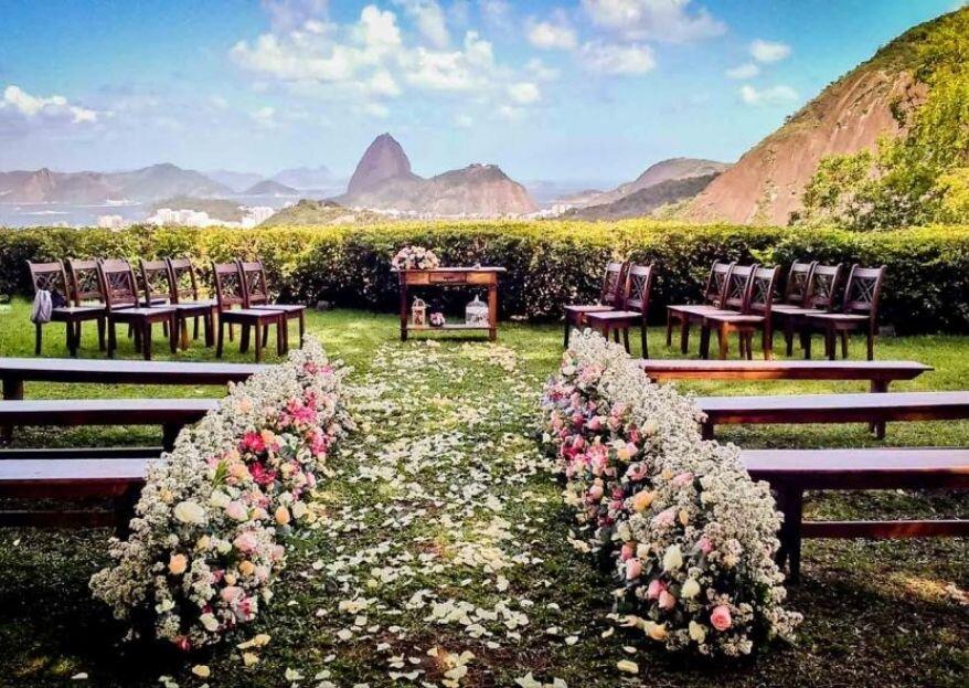 Locais incríveis para você fazer a cerimônia e a festa de casamento no mesmo lugar!