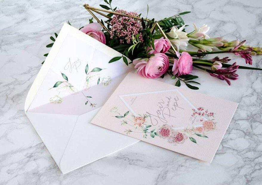 Cómo elegir las invitaciones para mi boda en 5 pasos