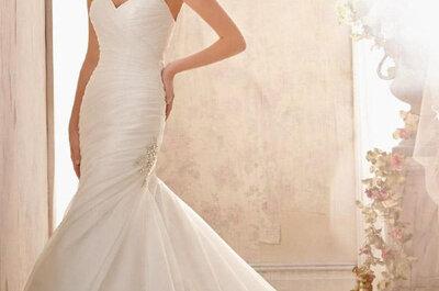 Brautkleider 2015 voller Eleganz - die neue Brautmoden-Kollektion von Mori Lee