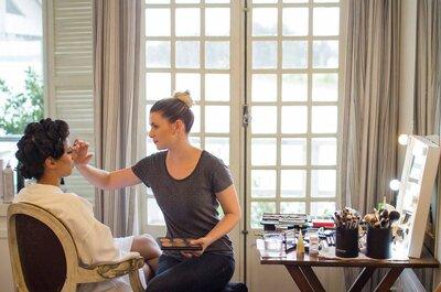 Veja as cores e estilos que são tendência na maquiagem das noivas mais atuais. Dicas de uma superespecialista!