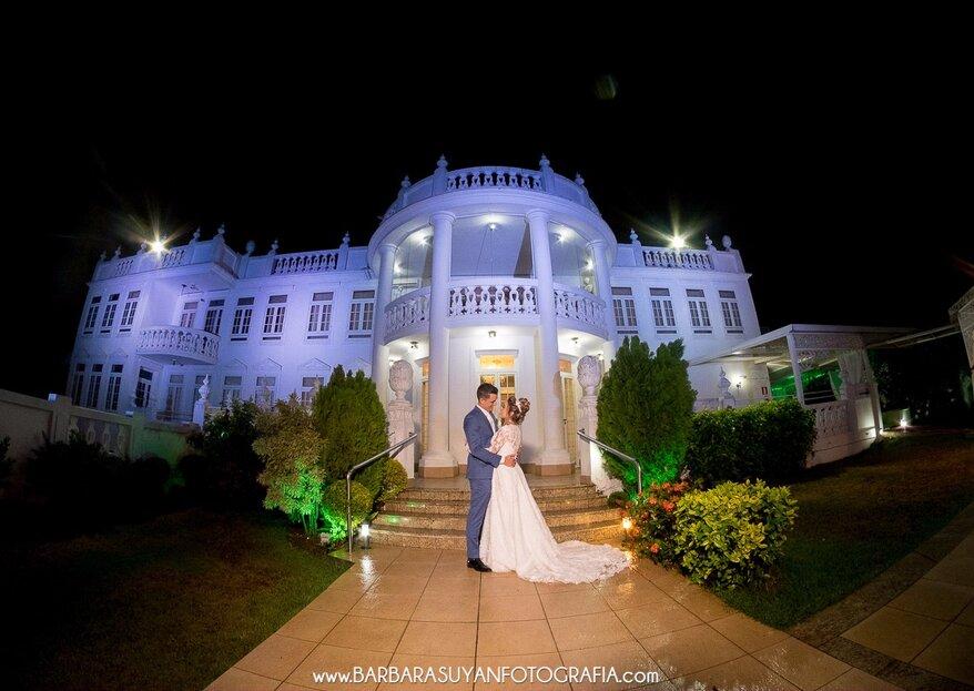 Miriam Maia Casa de Festas: para casais que sonham com uma celebração exclusiva, recheada de bom gosto, elegância e sofisticação