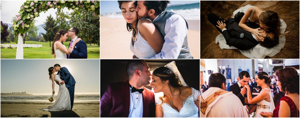 55 besos que tu fotógrafo debe registrar en el día de tu matrimonio