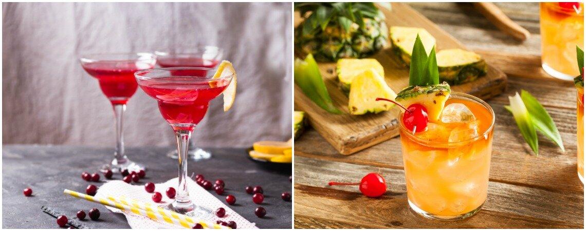 12 cócteles infaltables en la barra libre de tu matrimonio. ¡Anima la fiesta con un buen trago!