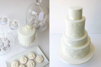 Os mais bonitos bolos de inverno para o seu casamento