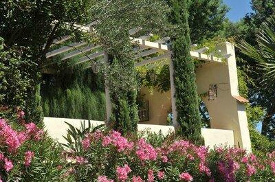 Les Pins Penchés, un cadre de rêve pour un mariage d'exception en Provence !