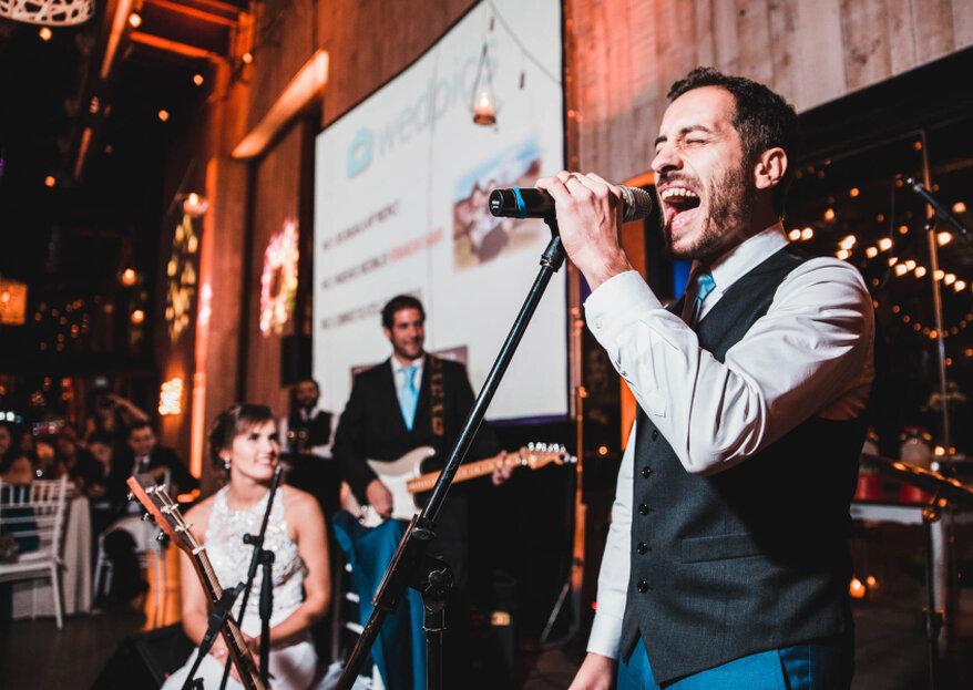 ¿Elegirás un DJ o música en vivo para tu matrimonio?