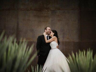 Solo tu sonrisa me basta: La boda de Denisa y Javier