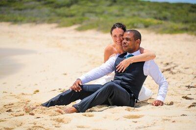 Invitation au voyage avec le mariage de Catherine et Olivier en Guadeloupe!