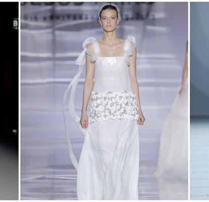 precio baratas Para estrenar elige mejor Vestidos de novia corte imperio: un look de lo más romántico