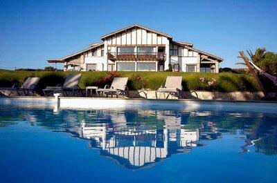 15 lieux de réception dans le Pays Basque et le Béarn où organiser un mariage grandiose !