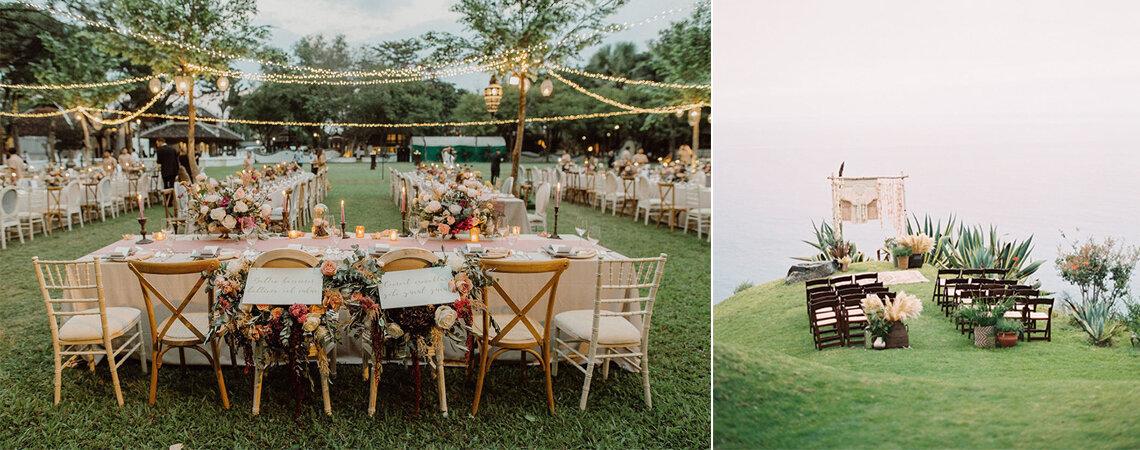 Decoração de casamento ao ar livre: vai querer o seu assim!