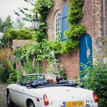 Autos für eine Retro-Hochzeit