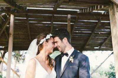 Sophie & Regis : le charme d'un mariage vintage dans le sud de la France