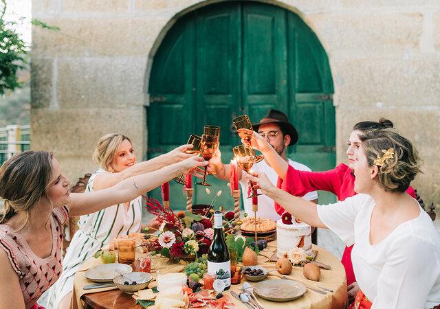 The Harvest Ball: cores & sabores das vindimas num editorial com toque outonal