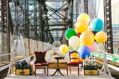 61 год вместе!Самая романтическая фотосессия на мосту