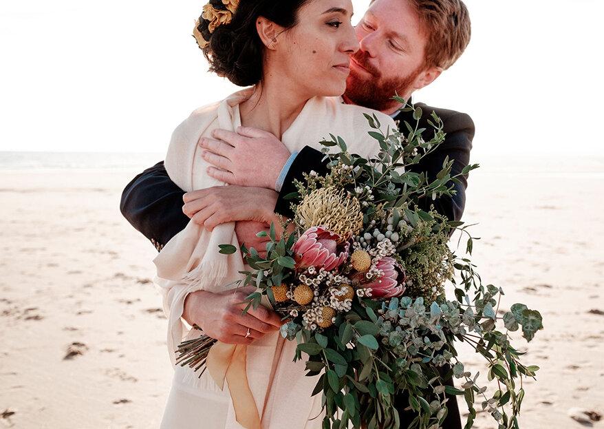 Marina & Morgan: um amor além-fronteiras celebrado em Portugal