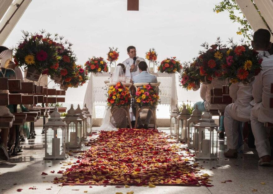 Una boda de clase superior en Santa Marta: ¡así lo hace Top Magic!