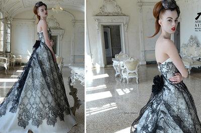 Abiti da sposa Aimée 2015: italian glamour